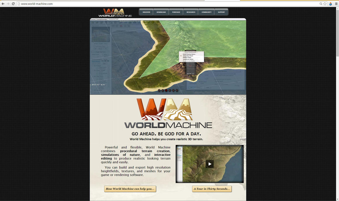 World machine website by Demon-Shadow-Wolf