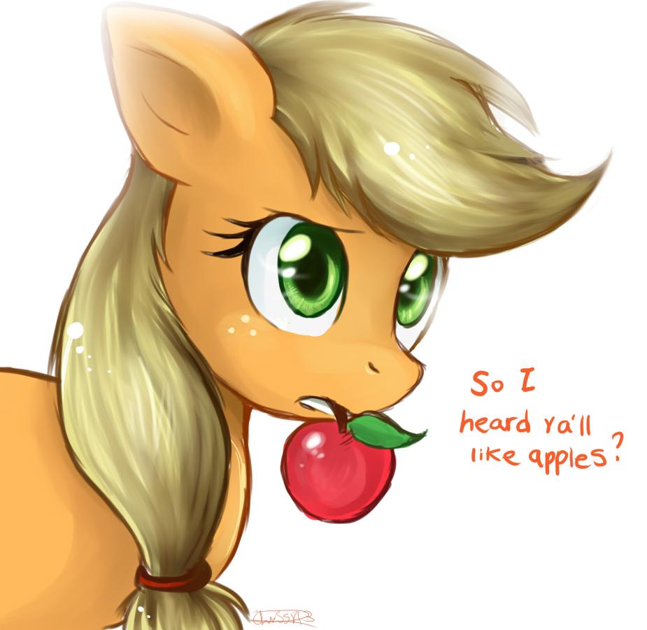So I Heard Y'all Like Apples. by oreokeki