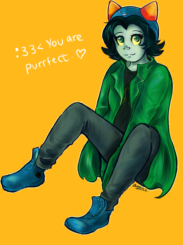 Nepeta likes you. by oreokeki