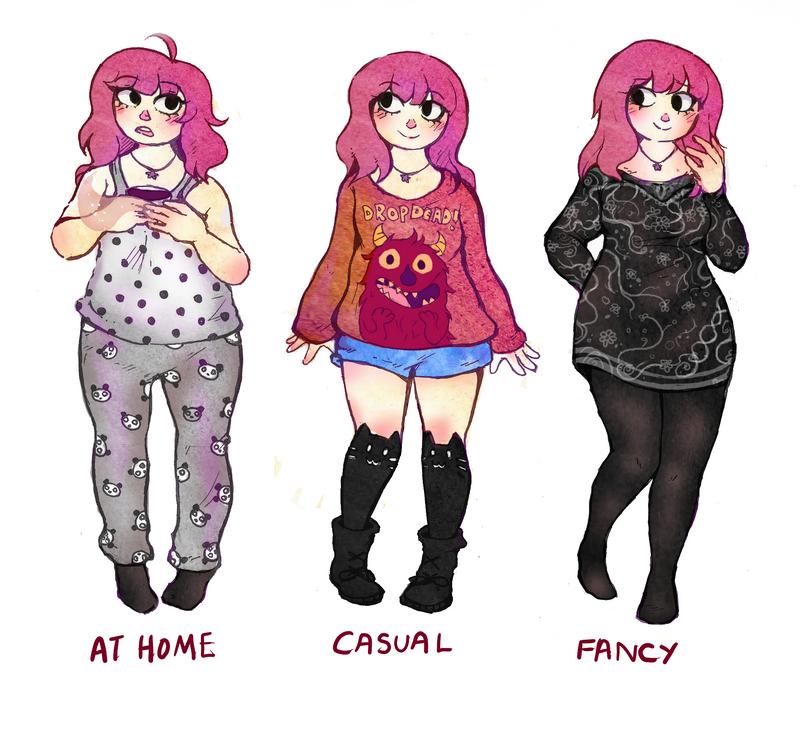 outfit meme by oreokeki