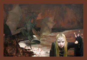 Dragons' World by jadenlynne