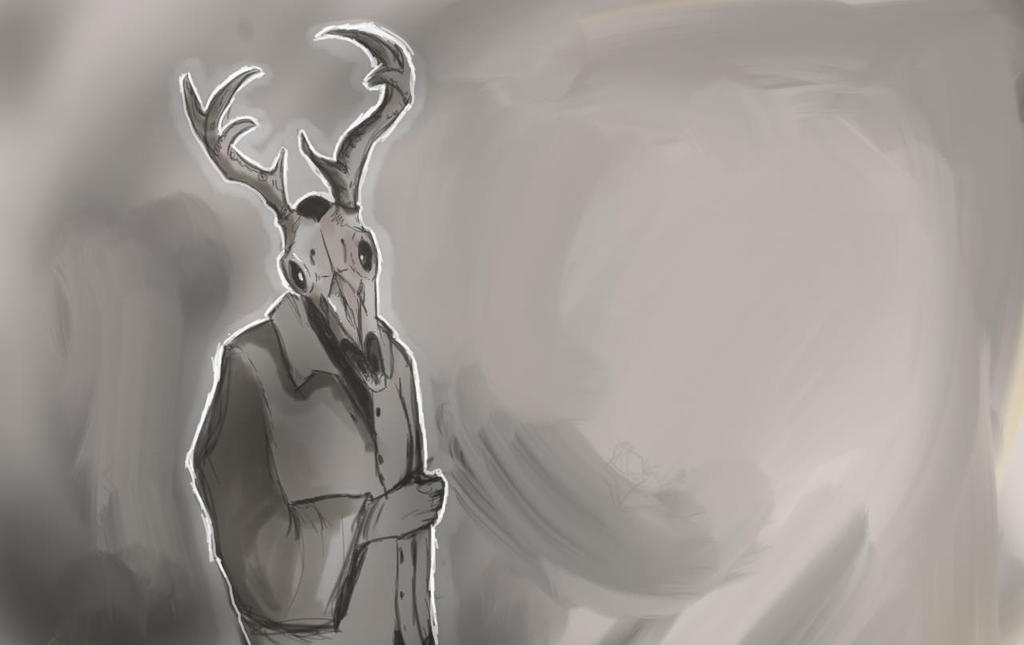 Deer Skull by F3ras