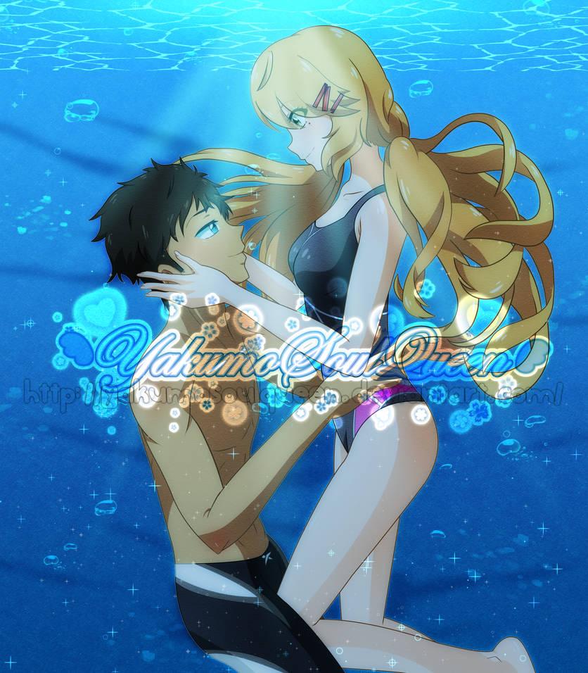 (+SPEEDPAINT) ..::CE: Water Romance::.. by YakumoSoulQueen