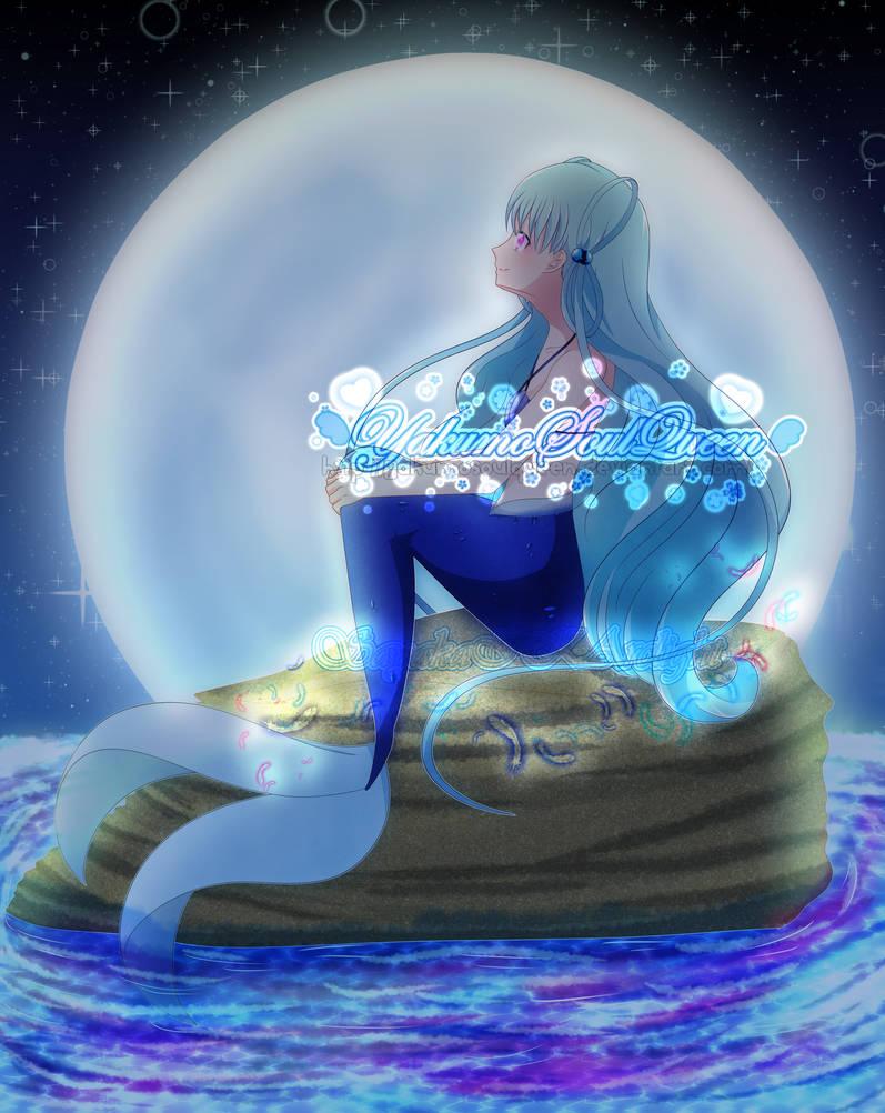 ..::Mermaid Under Moon Light::.. (collab)