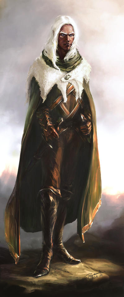 Drizzt 2 by paradanmellow