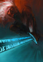 Elric Stormbringer by paradanmellow