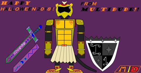 Inktober #4- Multidude's Costume by multidude233