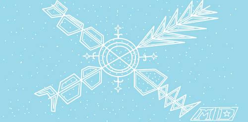 Odd Snowflake by multidude233