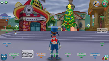 TTR-screenshot Christmas in Toontown 2018 #1 by multidude233