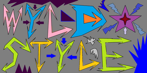 WYLD STYLE by multidude233