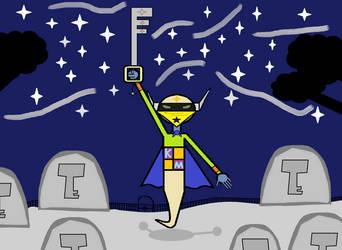 Key Master Phantom Hero (non-card) by multidude233