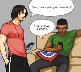 The passive aggressive adventures of Sam and Bucky