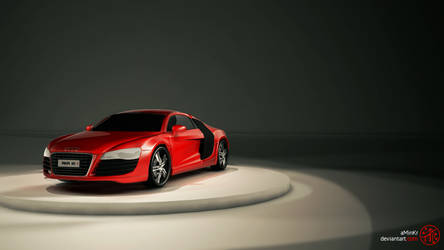 RED AUDI R8 by aminkr