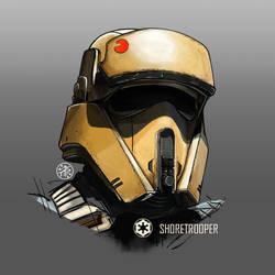 Shoretrooper Bust by aminkr
