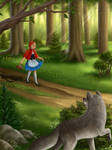 Little Red Riding Hood by manapi