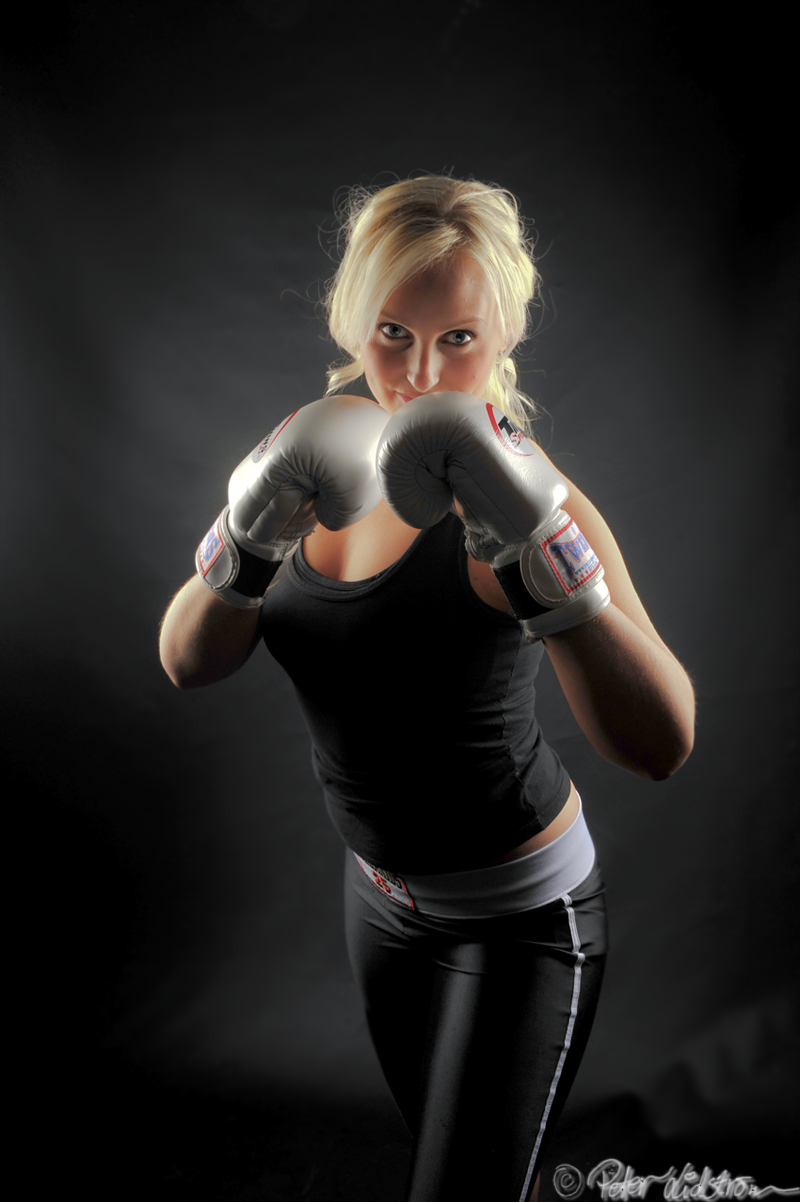 Boxing Girl HDR by DreamerArtworx