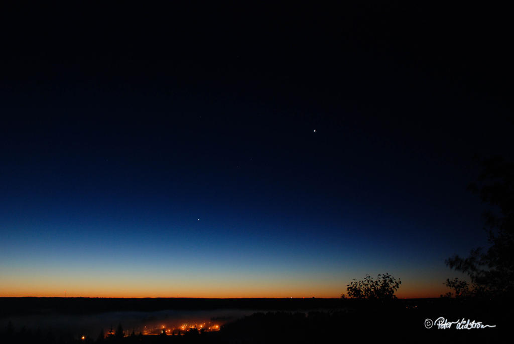 Venus in the morning twilight by DreamerArtworx