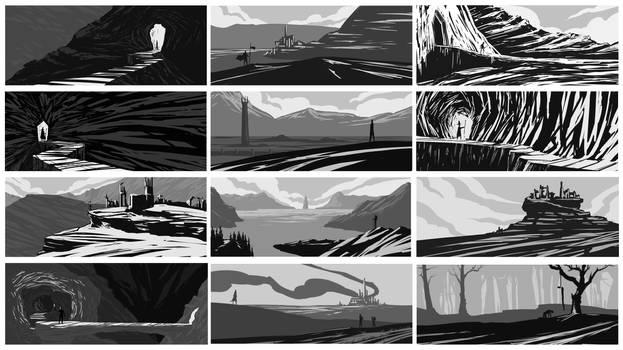 Environment study #19 thumbnailing