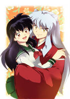 Inuyasha and Kagome together by animetedlover