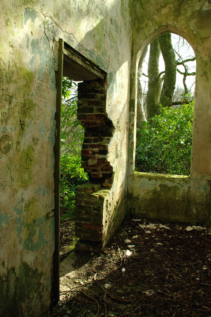 hidden chapel by InanimateSickBoy