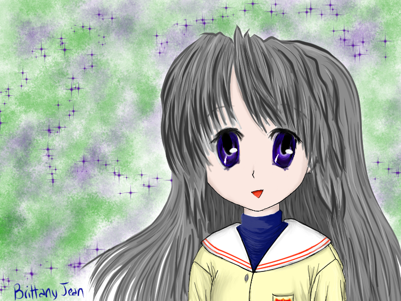 Tomoyo Doodle by Muse-4-Life