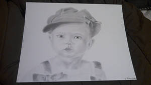 Simple Baby Portrait by Muse-4-Life