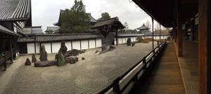 Peaceful Zen Rock Garden