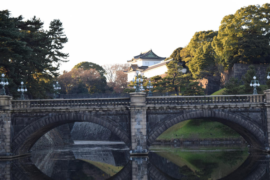 Tokyo Imperial Palace by Muse-4-Life