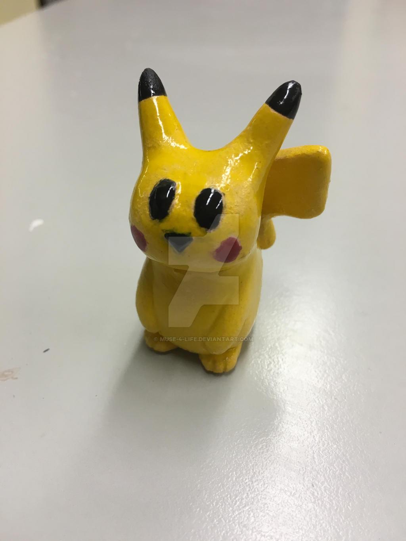 Ceramic Pikachu by Muse-4-Life
