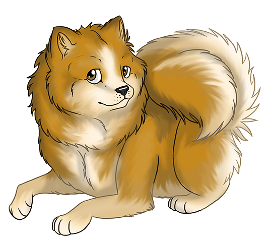 Wonderful Pomeranian Anime Adorable Dog - pomeranian_by_disney_queen  Pictures_68622  .jpg