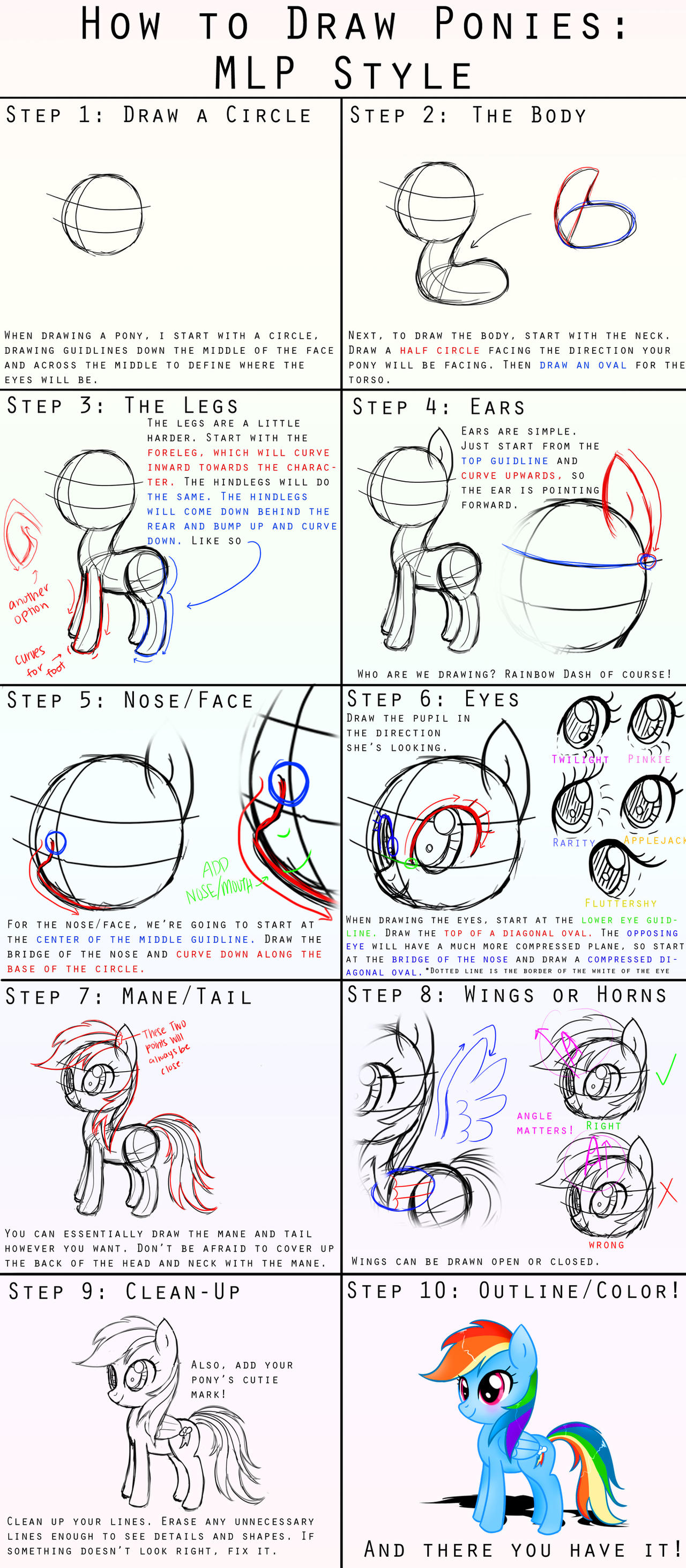 Uncategorized How To Draw Ponies how to draw ponies mlp style by steffy beff on deviantart beff