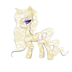 Commission: Ophelia Vio Lacy Pony