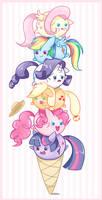 Ice Cream Ponies