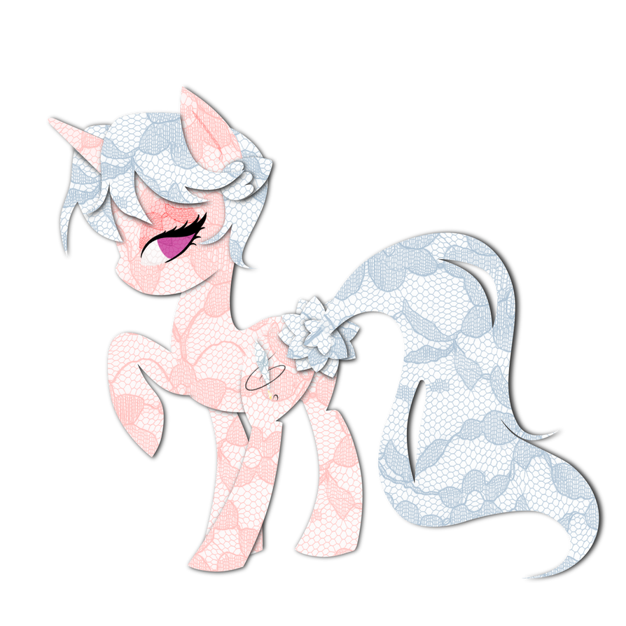 Gift Commission: Quilia Lacy Pony by steffy-beff