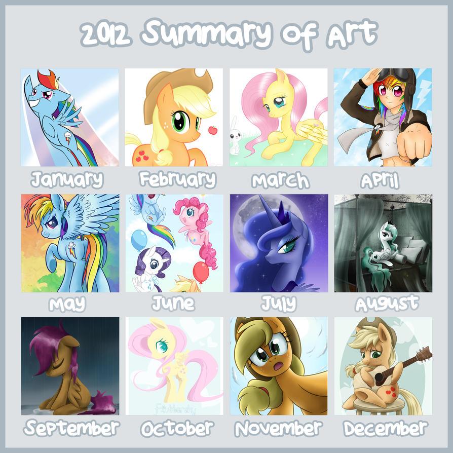 2012 Summary of Art by steffy-beff