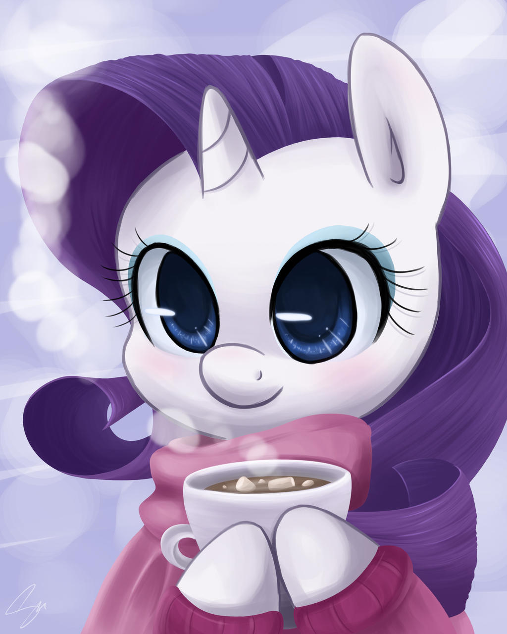 Marshmallow Pone by steffy-beff