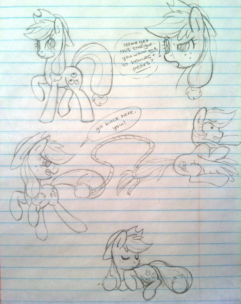 AJ sketch dump by steffy-beff