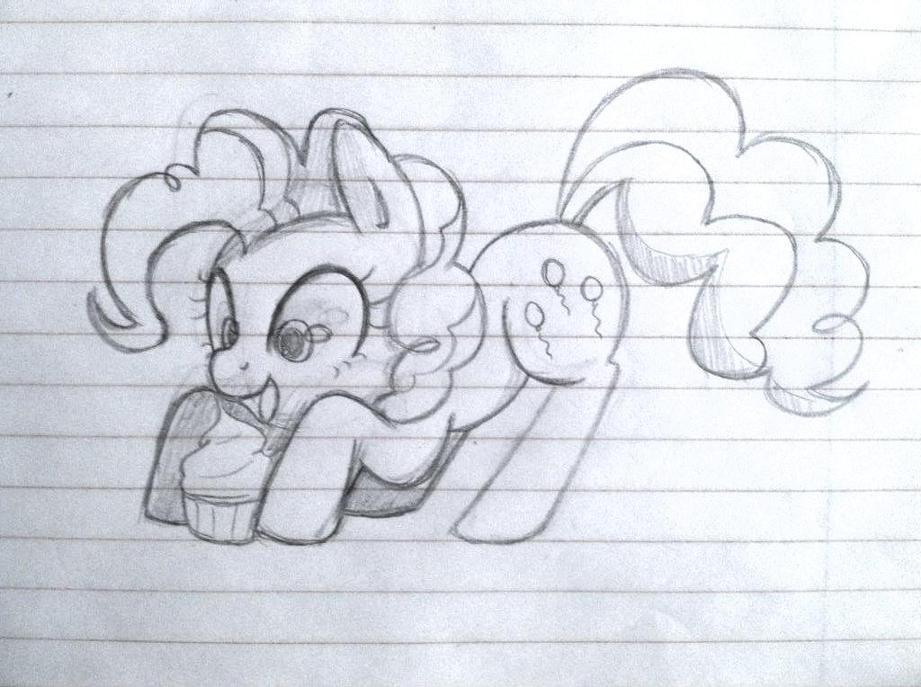 Pinkie sketch by steffy-beff
