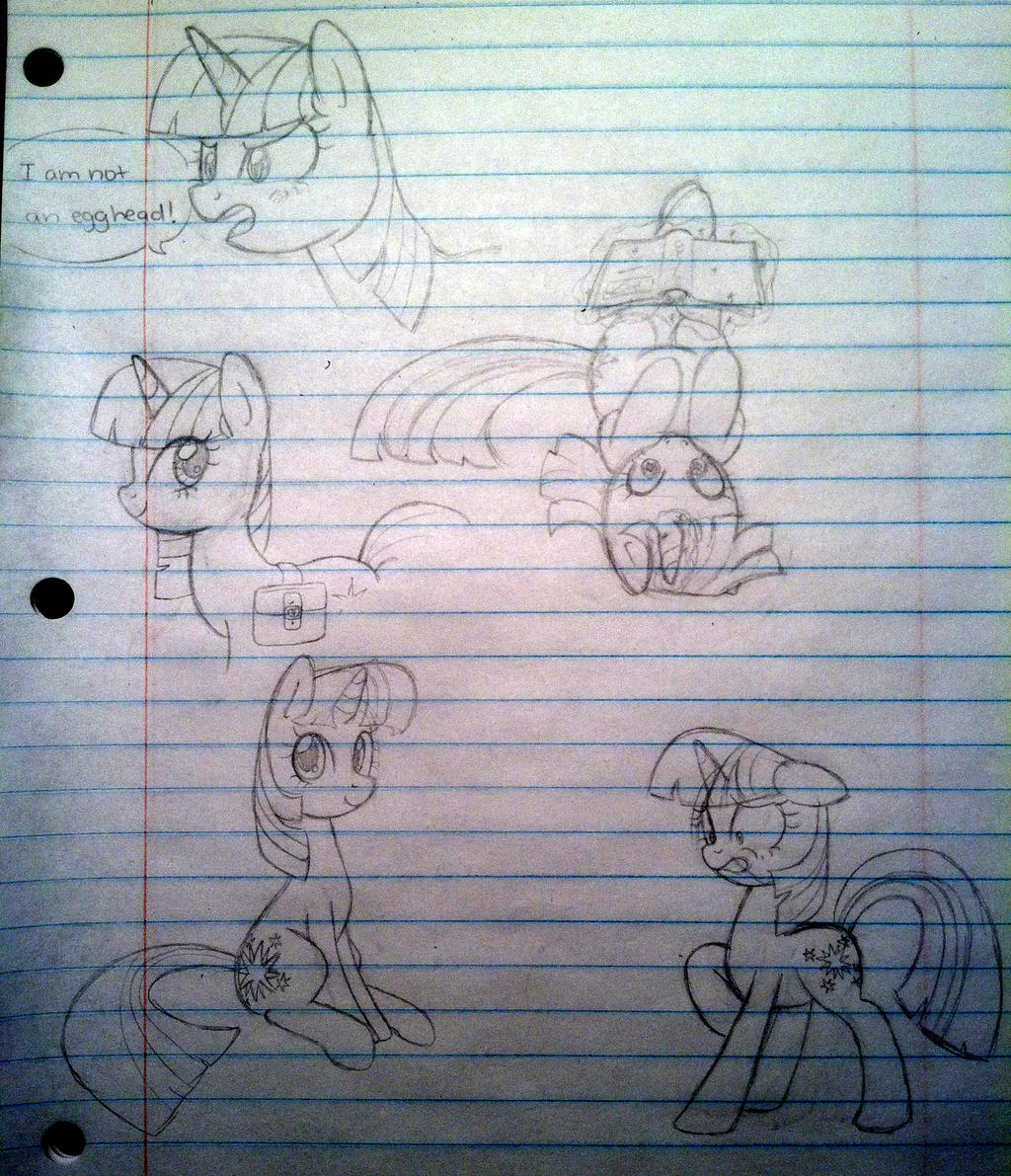 Egghead sketch dump by steffy-beff