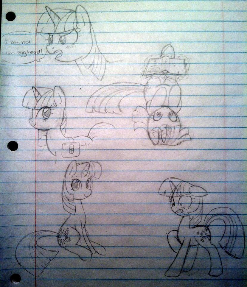 Egghead sketch dump by steffy-beff