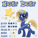 SOLD: Unicorn Adoptable - Night Light