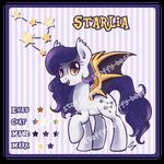 SOLD: Bat Pony Adoptable