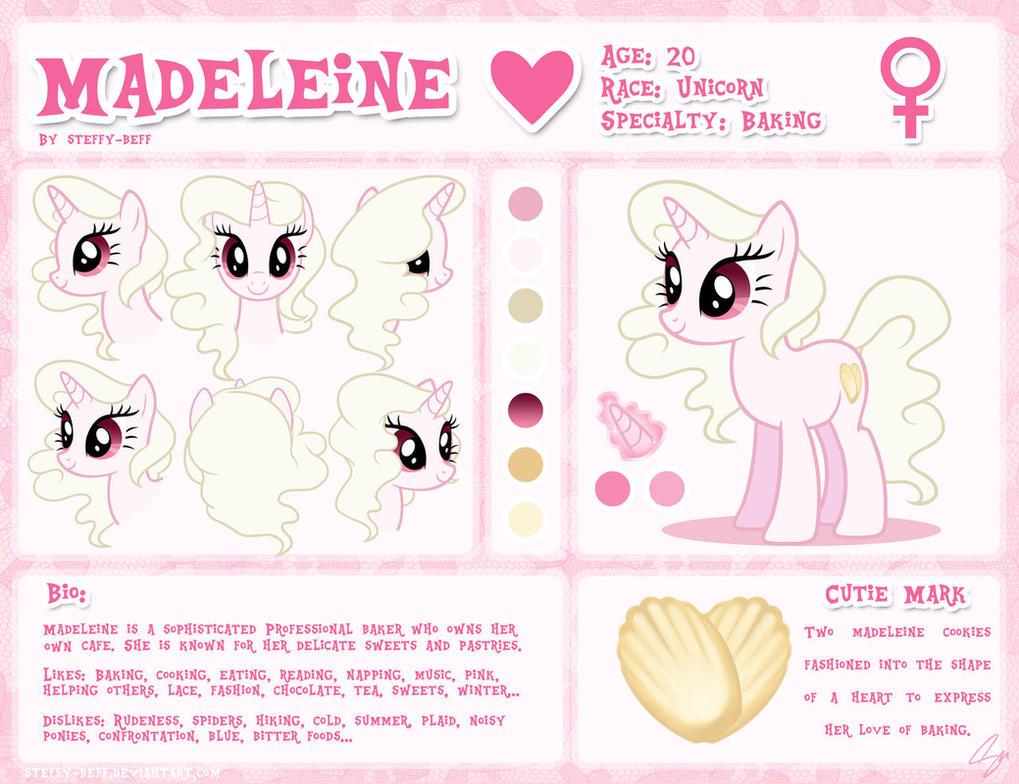 Madeleine Reference Sheet by steffy-beff