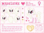 Madeleine Reference Sheet