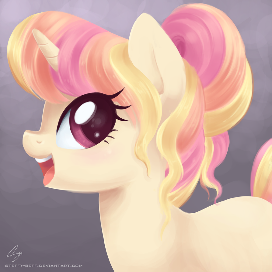 Candy Horse OC by steffy-beff