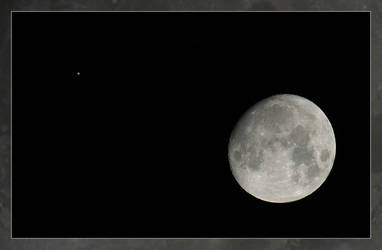 Moon and Mars - 10D by donian-photo