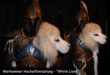 Warhammer 'White Lions' armour by BloodworxSander