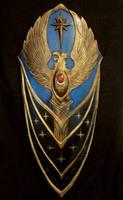 Warhammer Highelven shield by BloodworxSander