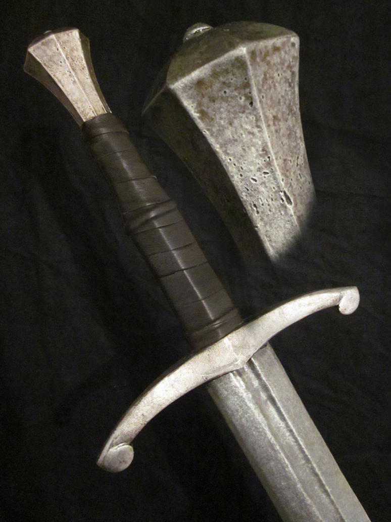 Sword hilt 2 by BloodworxSander