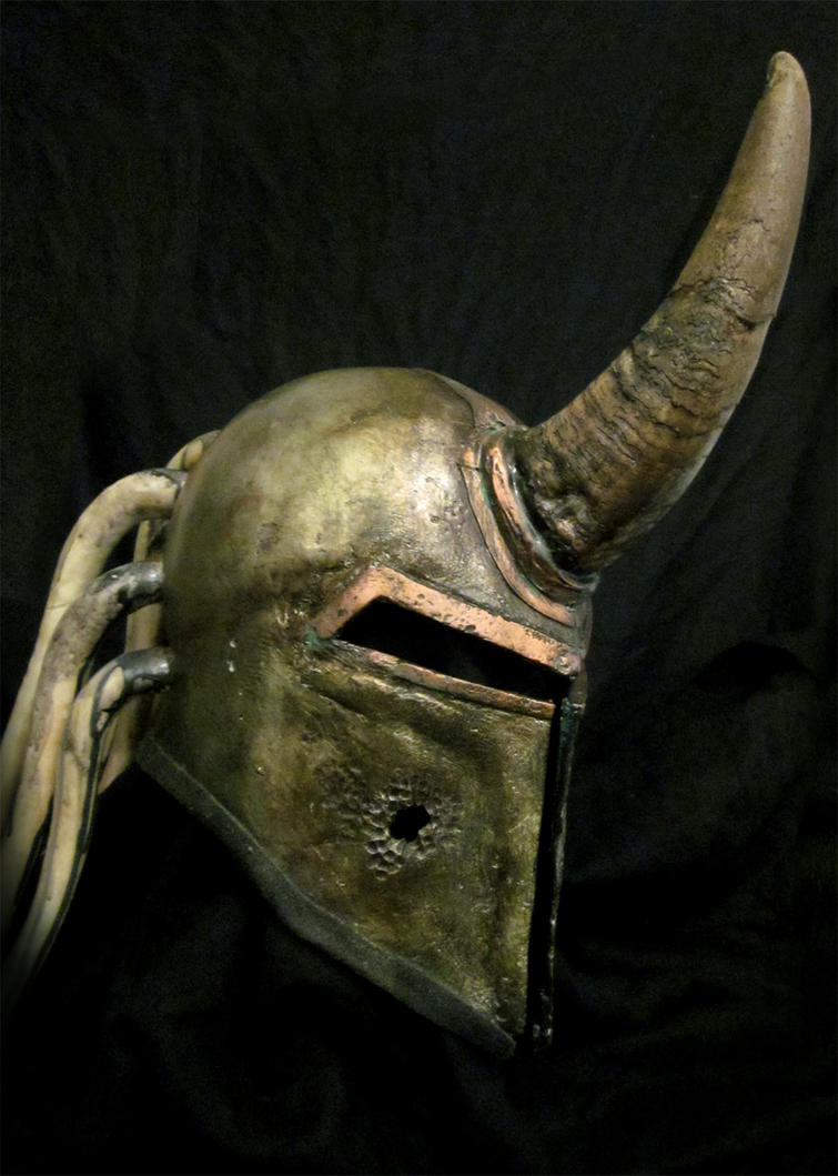 Nurgle helmet by BloodworxSander